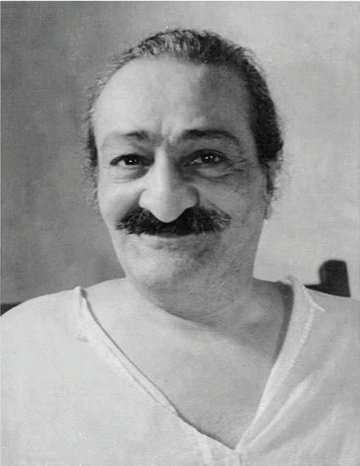 Meher Baba, 1957, source wiki commons