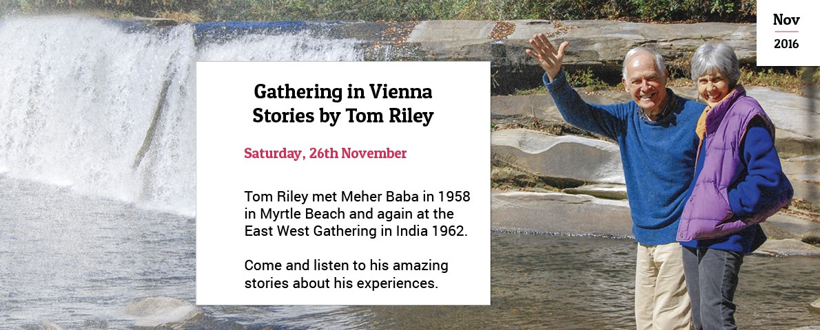 Baba Gathering Vienna with Tom and Cathy Riley